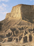 Bardenas Reales National Park, Navarre, Spain Photographic Print by Juan Manuel Borrero