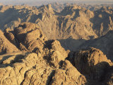 View from Mt. Sinai at Sunrise, Egypt Photo by Rolf Nussbaumer