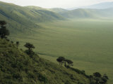 Looking Down into Ngorongoro Crater, Tanzania, East Africa, Unesco World Heritage Site Photo by Staffan Widstrand