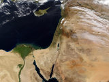 The Middle East Impressão fotográfica por Stocktrek Images