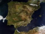 Spain and Portugal Impressão fotográfica por Stocktrek Images