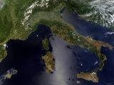 Italy and Southeast France Impressão fotográfica por Stocktrek Images