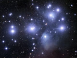 The Pleiades Photographic Print by  Stocktrek Images