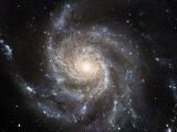 Spiral Galaxy Messier 101 (M101) Photographie par Stocktrek Images