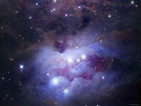 NGC 1977 is a Reflection Nebula Northeast of the Orion Nebula Lámina fotográfica por Stocktrek Images