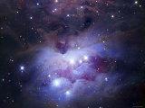 NGC 1977 is a Reflection Nebula Northeast of the Orion Nebula Fotografiskt tryck av Stocktrek Images,