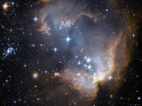 Small Magellanic Cloud Lmina fotogrfica por Stocktrek Images