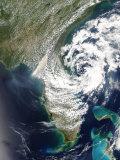Fires and Smoke in Georgia and Florida, May 10, 2007 Impressão fotográfica por Stocktrek Images