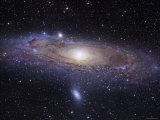 Andromeda-galaksen Fotografisk tryk af Stocktrek Images,