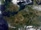 Northwestern Europe Impressão fotográfica por Stocktrek Images