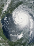 August 28, 2005, Hurricane Katrina Approaching the Gulf Coast Impressão fotográfica por Stocktrek Images
