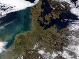 North Western Europe Impressão fotográfica por Stocktrek Images