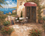 Caffe sul Mare Art by Vivian Flasch