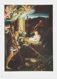 The Holy Night Collectable Print by  Correggio