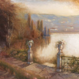 Lakeside Entrance Prints by Paul Mathenia