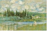 Die Seine Leinwand von Claude Monet