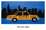 New York Taxi Cab Affiches par Aaron Foster