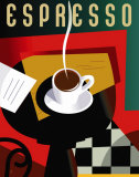 Cubist Espresso Prints by Eli Adams