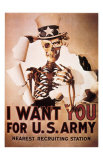 I Want You For U.S. Army Prints