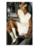 Kizette in Red Poster von Tamara de Lempicka