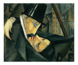 Der Kuss Kunst von Tamara de Lempicka