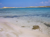 Beach at Pori Bay, Eastern End of the Island of Koufounissia, Lesser Cyclades, Greece Photographic Print by Richard Ashworth