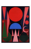 Paques, c.1949 Posters por Auguste Herbin