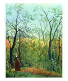 The Border of a Forest, c.1886 Posters by Henri Rousseau