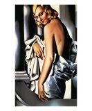 Portrait of Marjorie Ferry, c.1932 Poster von Tamara de Lempicka