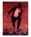 Le Retour de Flamme, c.1943 Poster von Rene Magritte