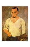 Self Portrait, c.1906 Prints by Pablo Picasso