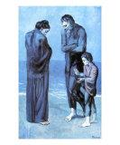 Les Pauvres au Bord de la Mer, c.1903 Kunstdrucke von Pablo Picasso