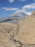 Mount Demavand, Elburz Mountains, Iran, Middle East Photographic Print by Richard Ashworth