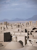 Rooftops and Wind Towers, Yazd, Iran, Middle East Photographic Print by Richard Ashworth