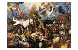 The Fall of the Rebel Angels, c.1562 Prints by Pieter Bruegel the Elder