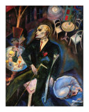 The Malady of Love, c.1916 Prints by George Grosz