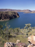 Small Part of Lake Argyll, from Near Ord River Dam, Kimberley, Western Australia, Australia Photographic Print by Richard Ashworth