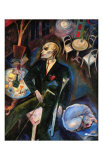 The Malady of Love, c.1916 Plakat av George Grosz