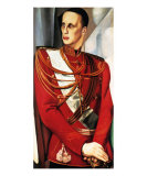 Portrait of Grand Duke Gabriel Poster by Tamara de Lempicka