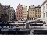 Stortorget, Gamla Stan (Old Town), Stockholm, Sweden, Scandinavia Photographic Print by Richard Ashworth