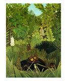 Joyeux Farceurs Art by Henri Rousseau