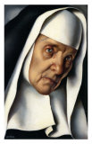 Mother Superior, c.1935 Prints by Tamara de Lempicka