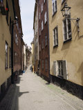 Narrow Street in Gamla Stan, Old Town, Stockholm, Sweden, Scandinavia Photographic Print by Richard Ashworth