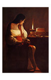 La Madeleine Terff Prints by Georges de La Tour