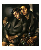 The Refugees, c.1931 Prints by Tamara de Lempicka