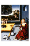 Melancholy, c.1532 Posters by Lucas Crana
