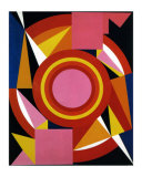 Diable, c.1958 Posters by Auguste Herbin