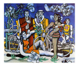 Les Loisirs, c.1948 Poster by Fernand Leger