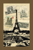 Postcards from Paris Posters by Gywnn Goodner