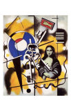 La Joconde aux Clefs, c.1930 Plakater af Fernand Leger